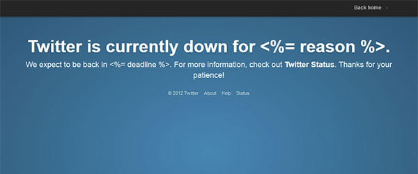 Twitter goes Down Again – Twitter Services showing Issues